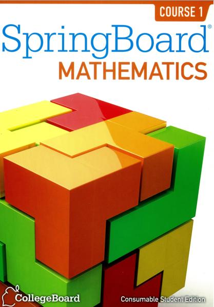 Springboard algebra 2 college board answers